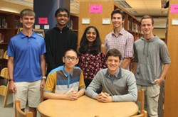 PTHS National Merit Semifinalists