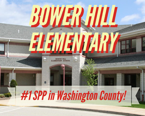 SPP Scores: Bower Hill Ranks #1 in Washington County! image