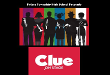 PTHS Presents CLUE onstage