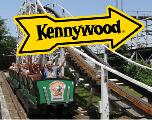 Kennywood rollercoaster