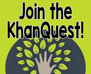 Take the KhanQuest Challenge at PTHS!