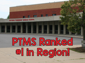 PTMS ranks #1 in region