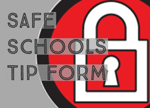 Safe schools logo with lock icon