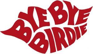 Bye Bye BIrdlie Broadway logo