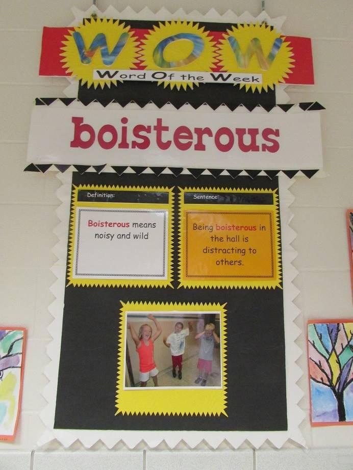 boisterous - 10/16