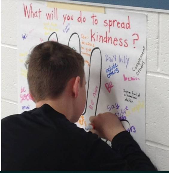 Spreading kindness