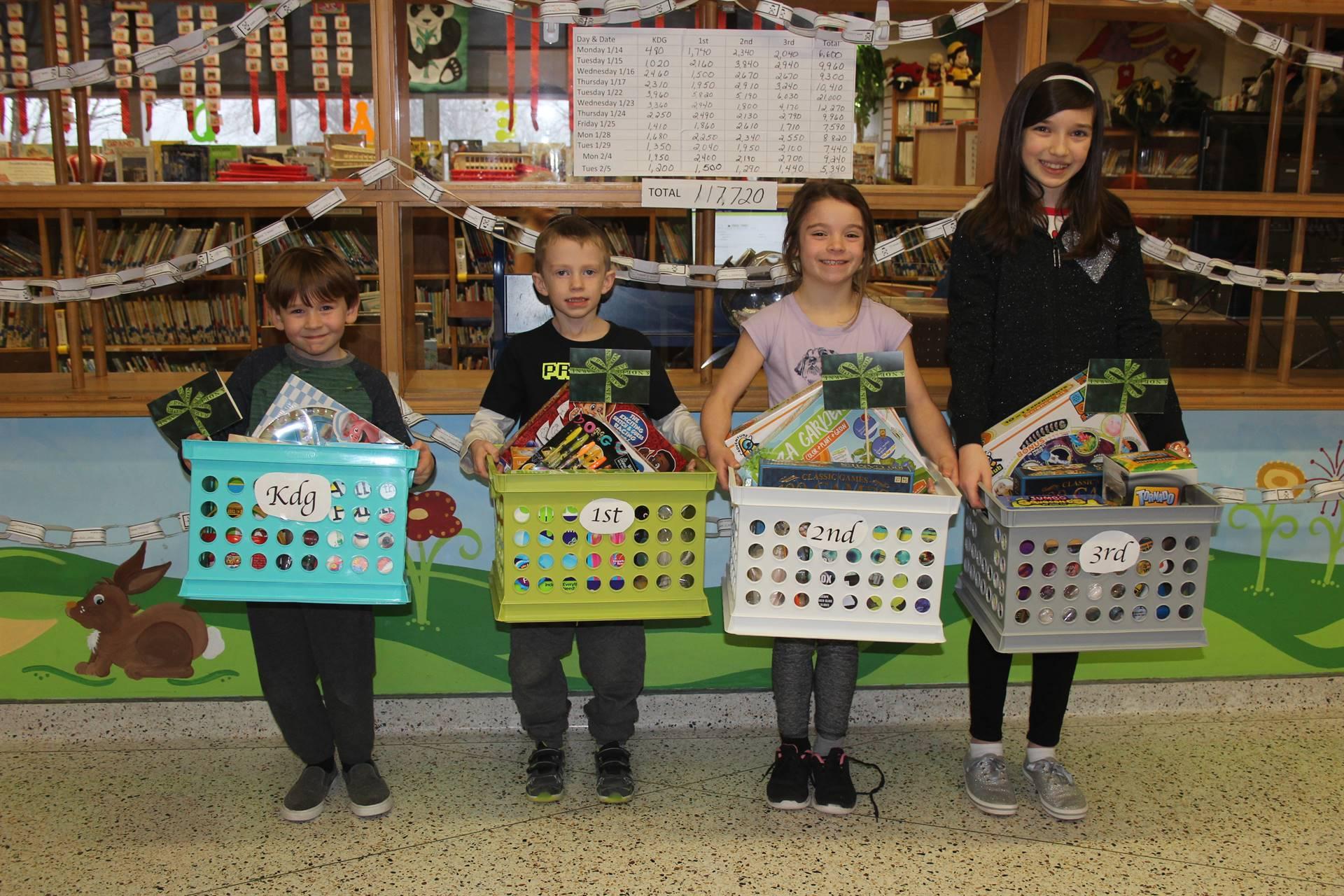 Elementary Read-A-Thon Winners