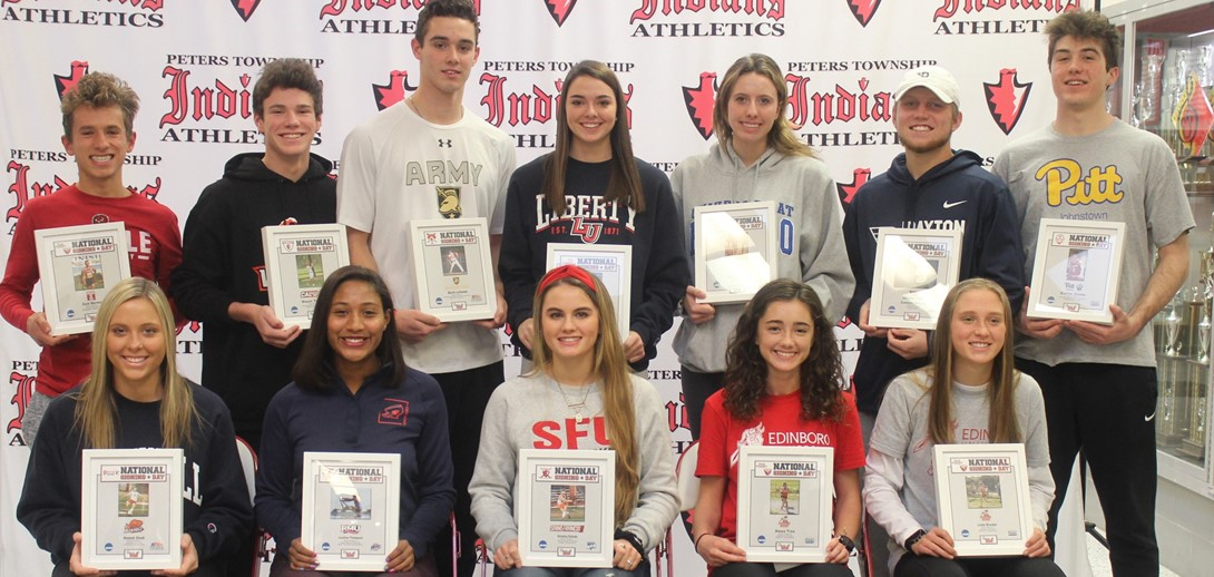 Students who signed national letters of intent.