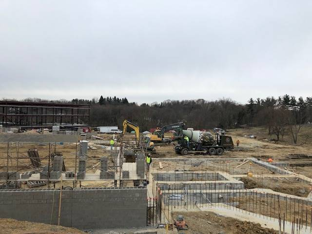 April 2019 Construction Views