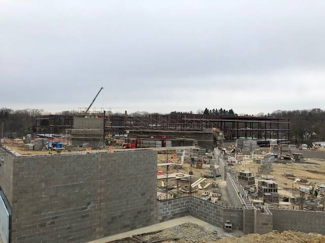 April 2019 Construction Views