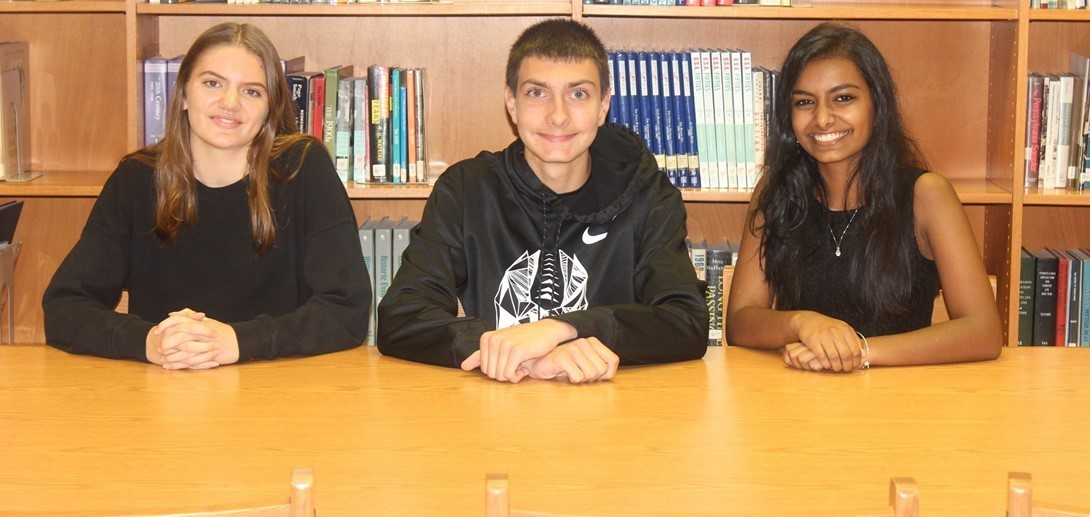 Students who were selected as national merit semi-finalists.