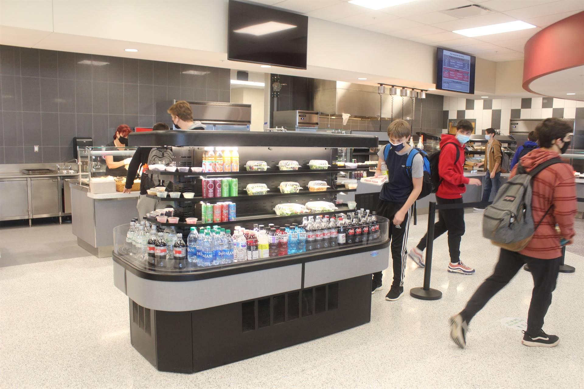 Cafeteria Serving Area