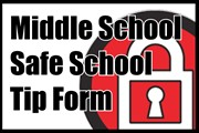 Safe School Tip Form with lock logo