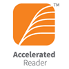 Orange box - logo for Accelerated Reader Program