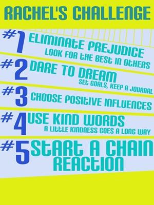 Rachel's 5 Challenges