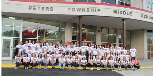 PTMS staff group picture